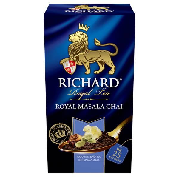 RICHARD Royal Masala Chai - Indijski crni čaj sa djumbirom, cimetom i kardamonom, 50g