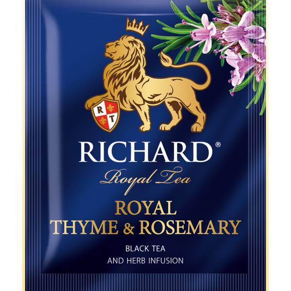 RICHARD Royal Thyme & Rosemary - Crni čaj sa timijanom i ruzmarinom, 50g
