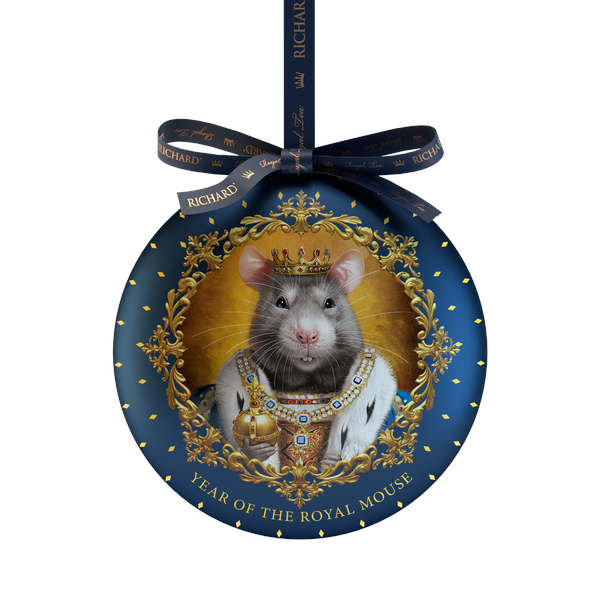 RICHARD Year of the Royal Mouse - Crni čaj, 20g rinfuz, KING metalno pakovanje
