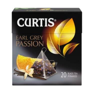 CURTIS Earl Grey Passion - Crni čaj sa bergamotom, vanilom i korom citrusa