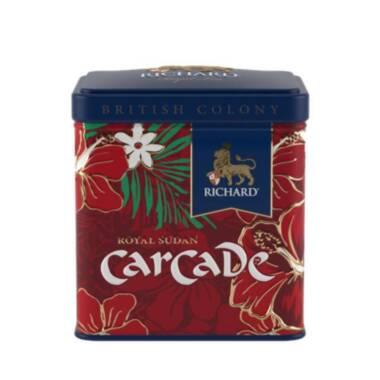 RICHARD British Colony Royal Carcade - Voćno-biljni čaj, 50g rinfuz, metalna kutija