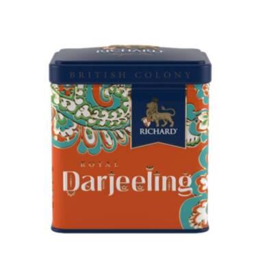 RICHARD British Colony Royal Darjeeling - Crni indijski čaj, 50g rinfuz, metalna kutija