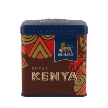 RICHARD British Colony Royal Kenya - Crni kenijski čaj, 50g rinfuz, metalna kutija
