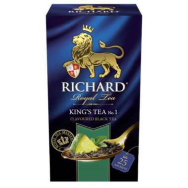 RICHARD King's Tea №1- Crni čaj sa mentom i korom citrusa, 50g