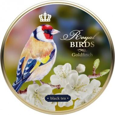RICHARD Royal Birds - Crni čaj, 40g rinfuz, GOLDFINCH metalna kutija