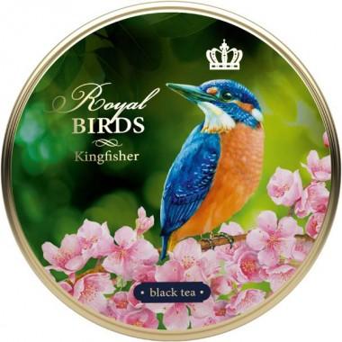 RICHARD Royal Birds - Crni čaj, 40g rinfuz, KINGFISHER metalna kutija