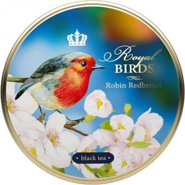 RICHARD Royal Birds - Crni čaj, 40g rinfuz, ROBIN REDBREAST metalna kutija