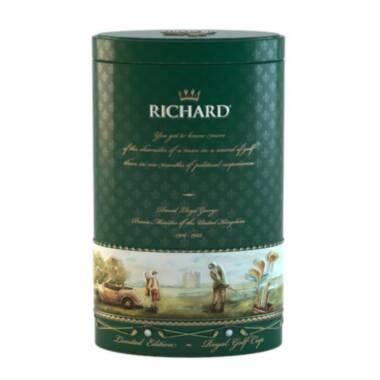RICHARD Royal Green - Kineski zeleni čaj, 80g rinfuz, GOLF metalna kutija