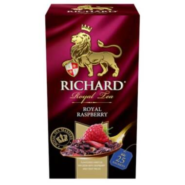 RICHARD Royal Raspberry - Voćno-biljni čaj sa komadićima voća, 37,5g
