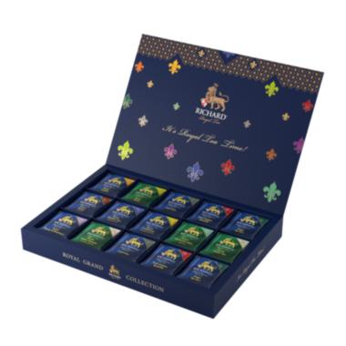 RICHARD Royal Tea Collection - Kombinacija čajeva, 120 posebno pakovanih kesica, 230.4g