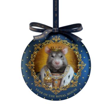RICHARD Year of the Royal Mouse - Crni čaj, 20g rinfuz, KING metalno pakovanje