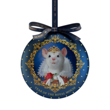 RICHARD Year of the Royal Mouse - Crni čaj, 20g rinfuz, QUEEN metalno pakovanje